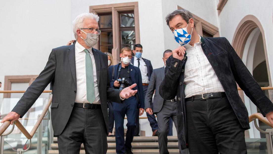 """Gemeinsamer Appell von Bayern und Baden-Württemberg: """"Wir dürfen nicht länger diskutieren"""""""