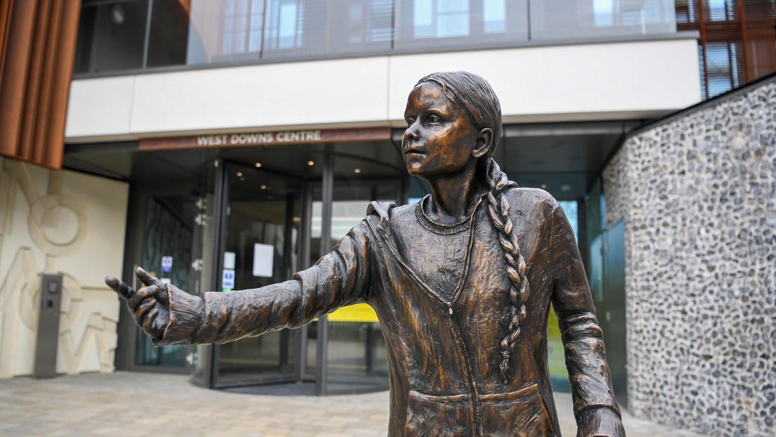England: Universität stellt Thunberg-Statue auf – Kritik von Studierenden