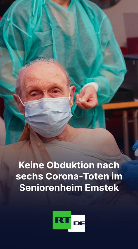 Sechs Corona-Tote im Seniorenheim Emstek: Landkreis Cloppenburg ist gegen Obduktion