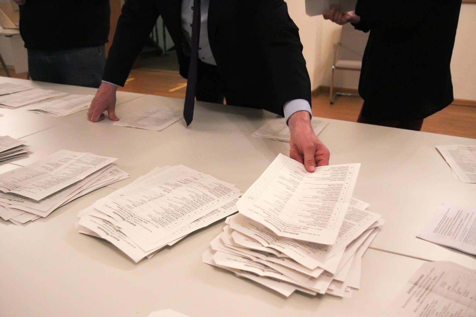 Hochrechnung Landtagswahlen
