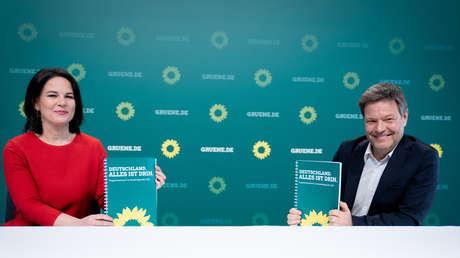 """Wahlprogramm der Grünen: Aus für Nord Stream 2, digitaler Euro und jede Menge """"Klimaneutralität"""""""