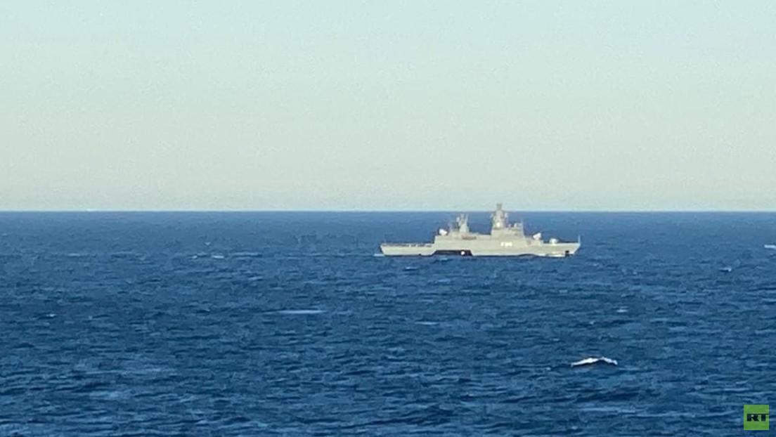 Nord Stream 2: Kriegsschiffe und Flugzeuge nahe der Rohrverlegestelle gesichtet