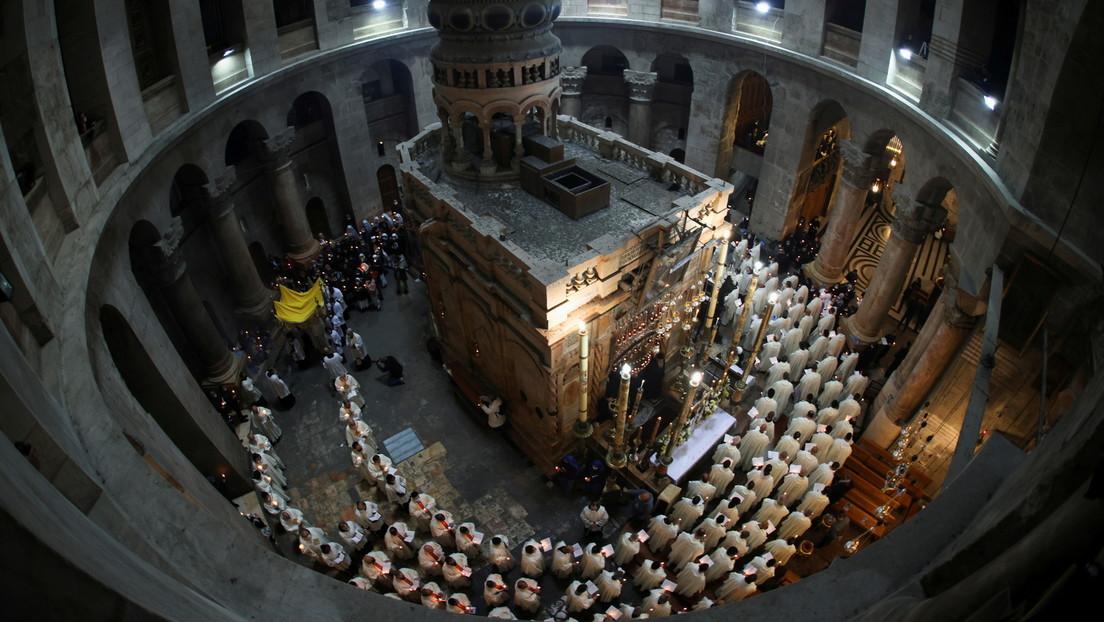Gründonnerstag in Jerusalem