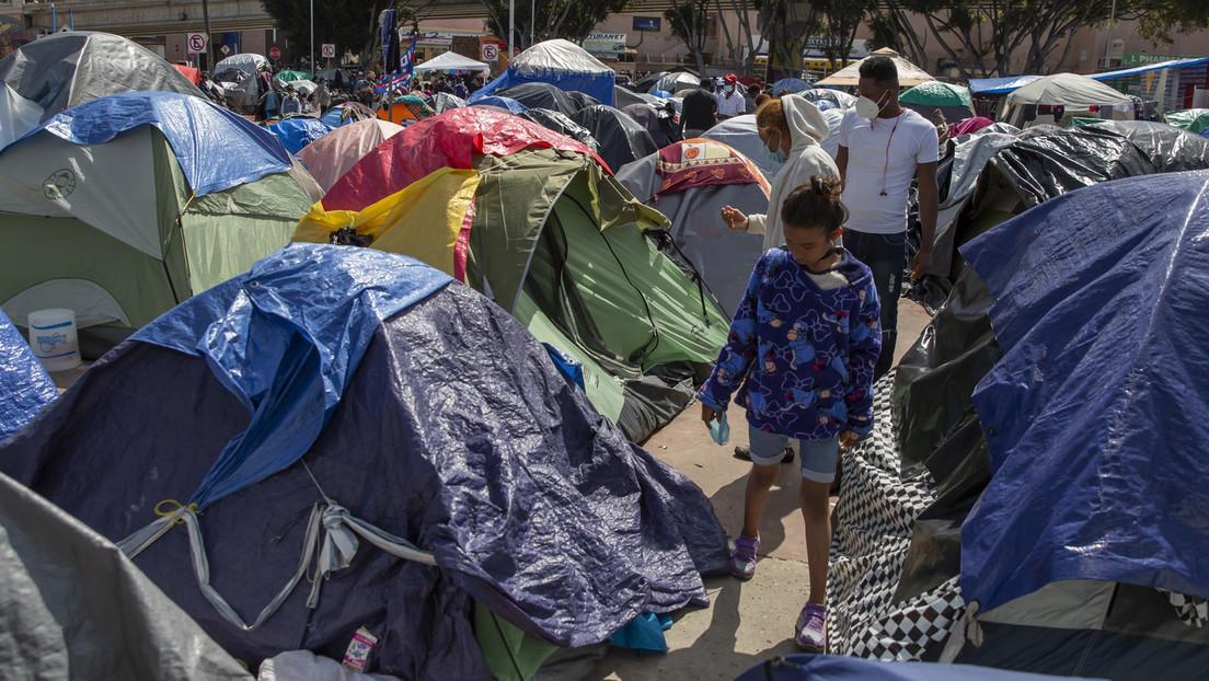"""Moskau: """"USA verletzen Menschenrechtsverpflichtungen, indem sie Migranten unmenschlich behandeln"""""""