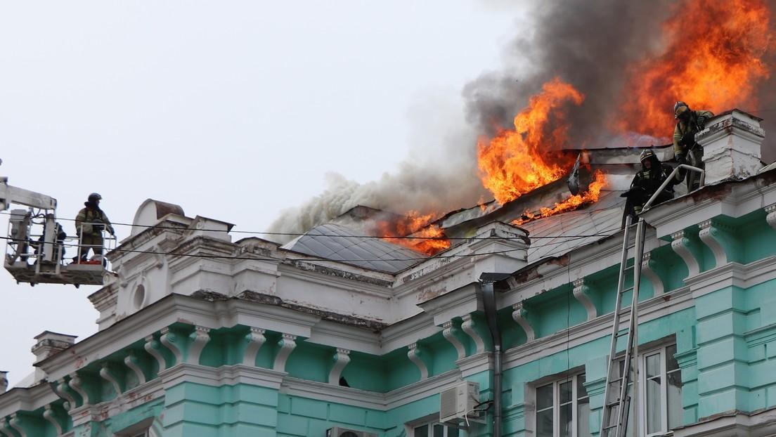 Brand bricht im russischen Herzzentrum aus – Ärzte führen Operation erfolgreich zu Ende