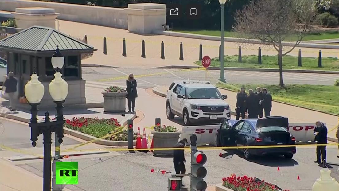 Mann rammt Polizeisperre am US-Kapitol – Mehrere Tote