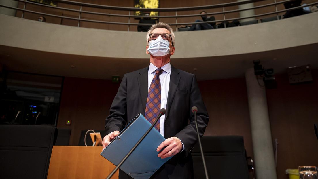 Ex-Bundesinnenminister de Maizière für befristeten Ausnahmezustand im Grundgesetz