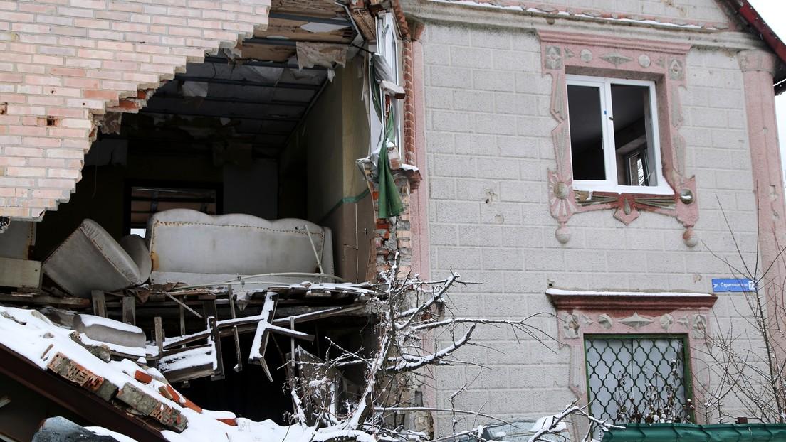 """Donbass unter Artilleriebeschuss: Biden verspricht Ukraine """"unerschütterliche Unterstützung"""""""