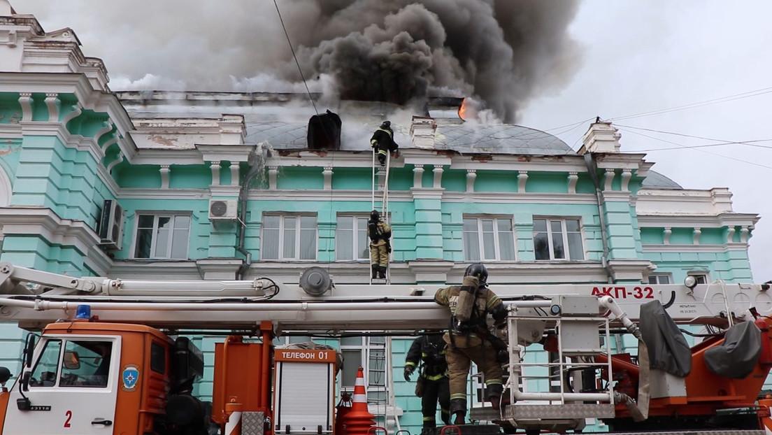 """Arzt nach geglückter Herzoperation im brennenden Gebäude: """"Feuer war kein Aprilscherz"""""""
