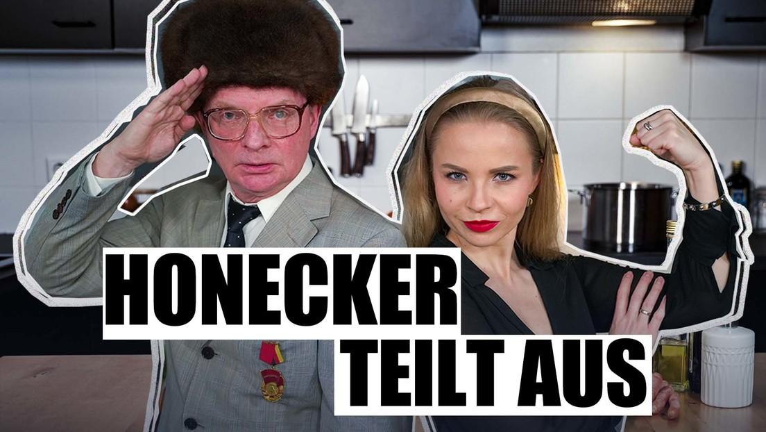 Seuche, Impfen, Bundesrepublik: Honecker redet Klartext – Kartoffelmus Spezial