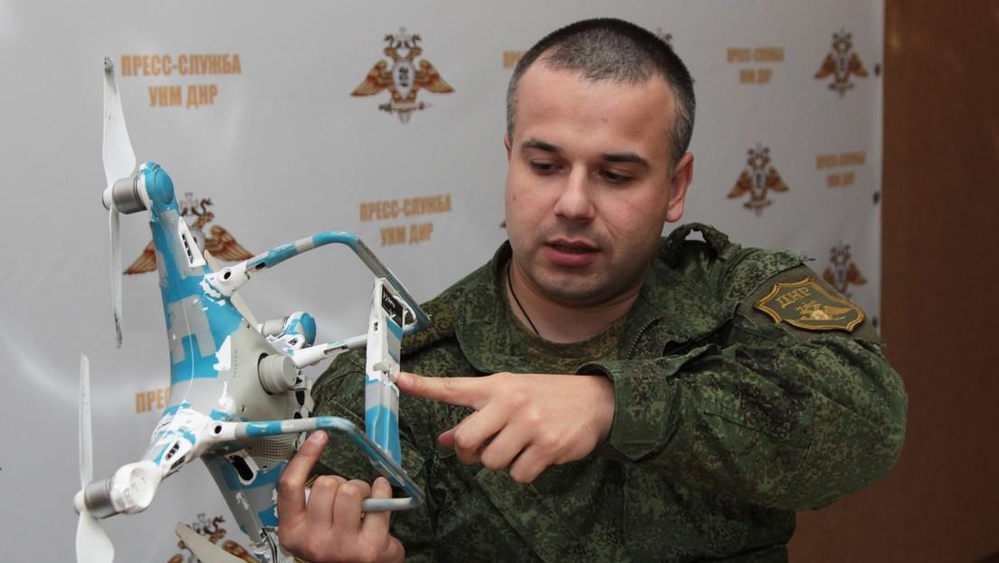 Volksmiliz in Donezk: Ein Kind bei ukrainischem Drohnenangriff getötet