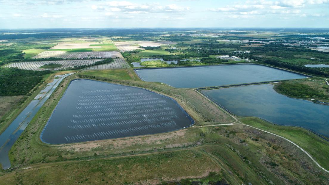 Florida droht Umweltkatastrophe: Riss in Abwasserbecken der Phosphatindustrie