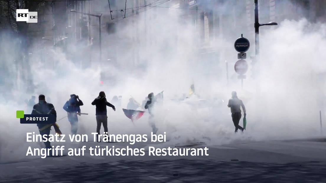 Frankreich: Einsatz von Tränengas bei Angriff auf türkisches Restaurant