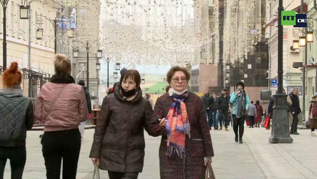 LIVE aus Moskau: Bars und Restaurants sind offen - Kinder ohne Masken in den Schulen