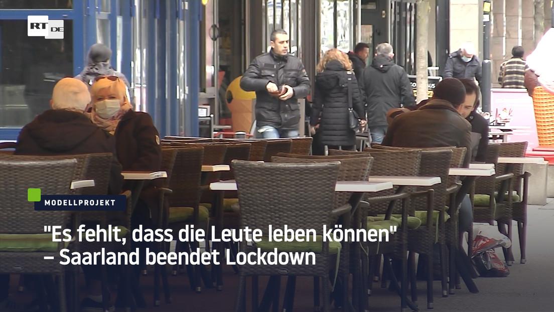 """""""Es fehlt, dass die Leute leben können"""" – Saarland beendet Lockdown"""