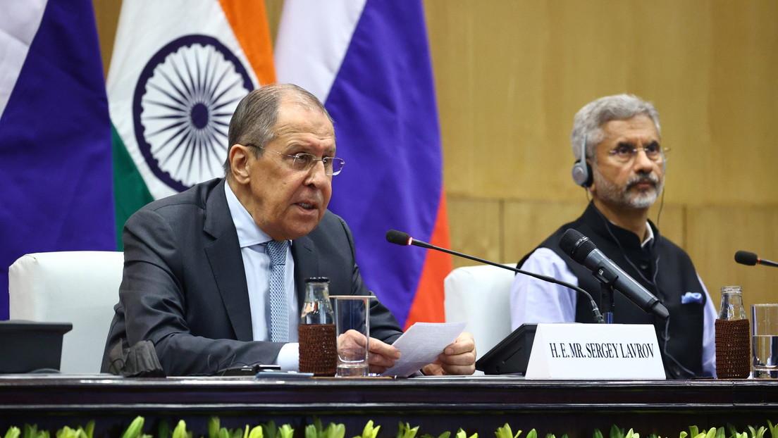 Lawrow: Russland und China werden kein Militärbündnis als Konkurrenz zur NATO in Asien schaffen