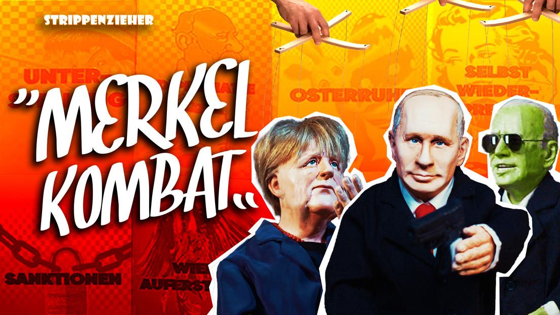 Merkel Kombat | Putin und Biden im Kugelhagel | Strippenzieher