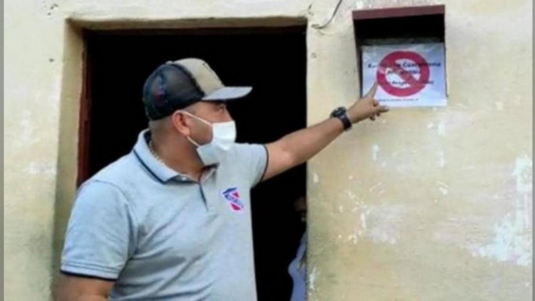 COVID-19-Segregation? Warnschilder an Häusern von Testpositiven – Venezolanischer Beamter in Kritik
