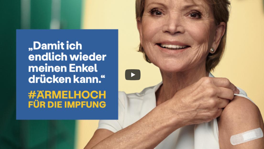 """""""Impfluencer"""" starten durch: Dank PR-Kampagne sollen mehr Bürger die """"Ärmel hochkrempeln"""""""