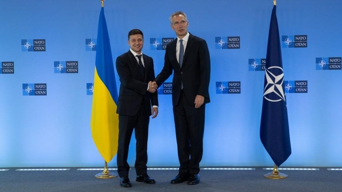 Moskau warnt: NATO-Beitritt der Ukraine wird zur Eskalation des Konflikts im Donbass führen