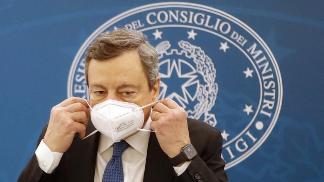 """Italienischer Ministerpräsident Draghi nennt Erdoğan """"Diktator"""""""