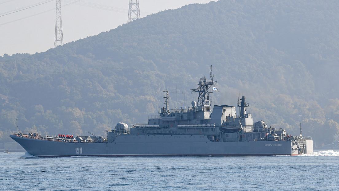 Russland schickt Kriegsschiffe ins Schwarze Meer – USA erwägen Verlegung von Schiffen in Region