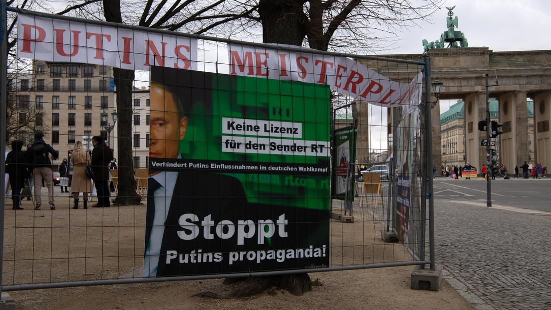 Berlin: Protestcamp für Freilassung Nawalnys am Brandenburger Tor