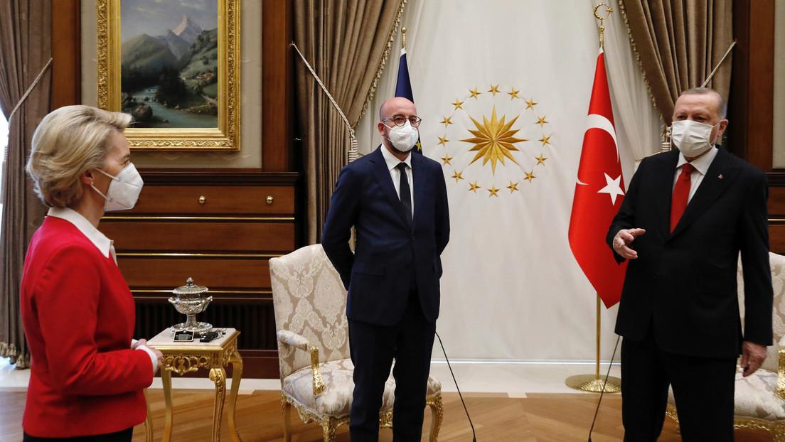 Nur ein Sofa für Ursula von der Leyen: Türkisches Sofagate oder hat die EU das Protokoll verlernt?