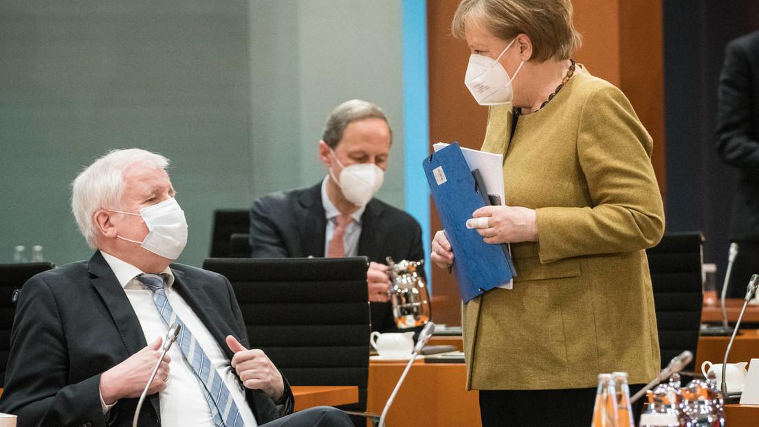 """Entscheidung im Kabinett: Regierung beschließt die """"Bundes-Notbremse"""" inkl. Ausgangssperren"""