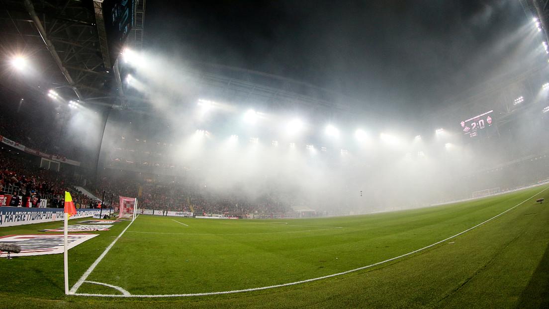 Fußballspiel wie in Silent Hill: Dichter Nebel macht Kicker für Zuschauer unsichtbar