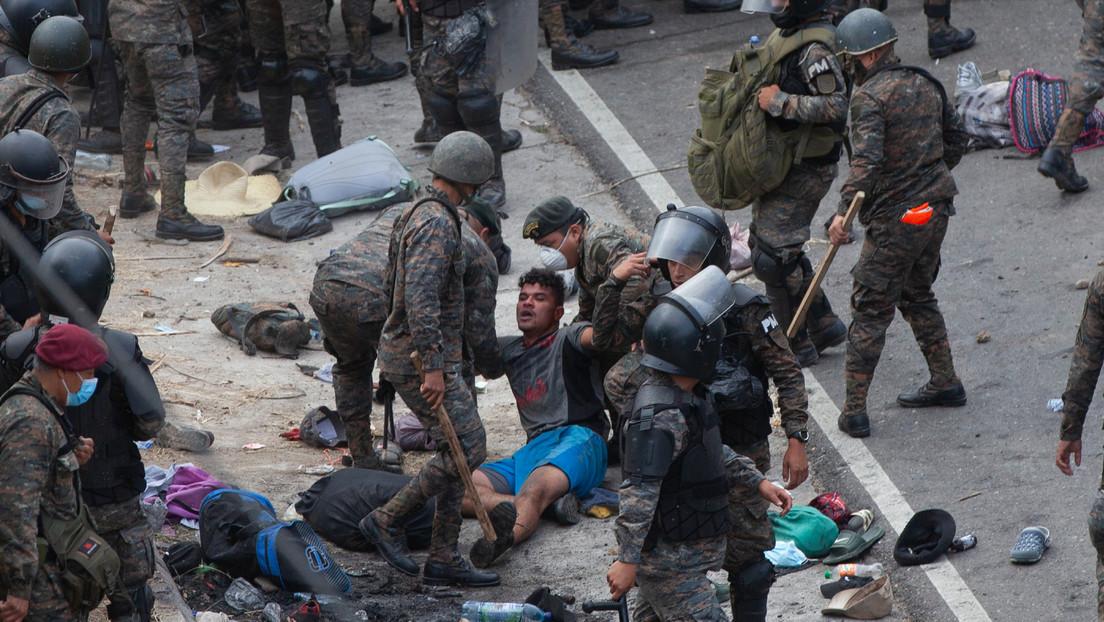 Krise an der US-Grenze: Lateinamerikanische Länder sollen Migranten militärisch stoppen