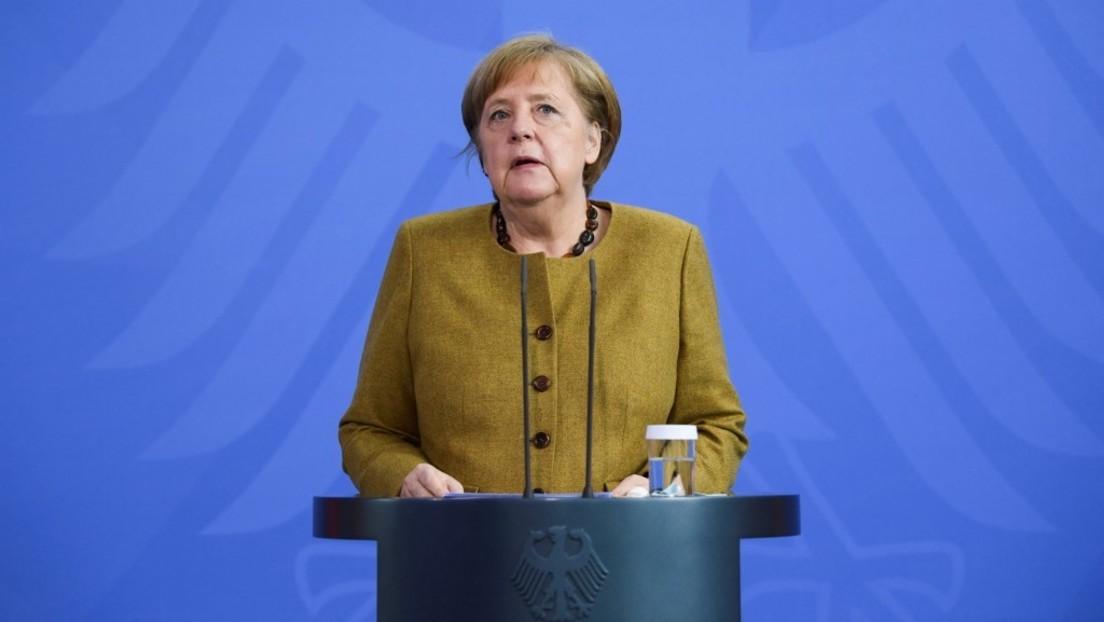 """""""Notbremse überfällig"""" – Bundeskanzlerin Merkel will rasche Umsetzung neuer Einschränkungen"""