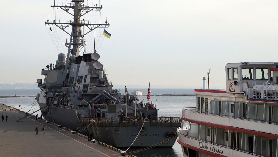 Moskau: US-Kriegsschiffe sollten sich von der Krim und der russischen Schwarzmeerküste fernhalten