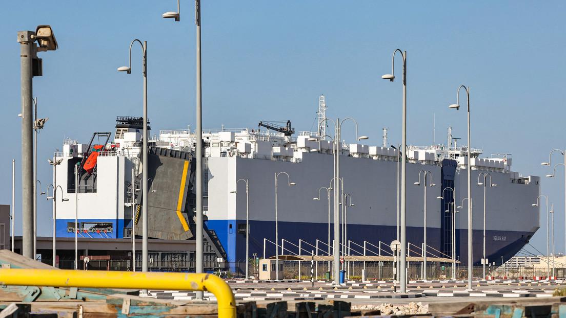 Iran schießt mutmaßlich erneut Rakete auf israelisches Frachtschiff
