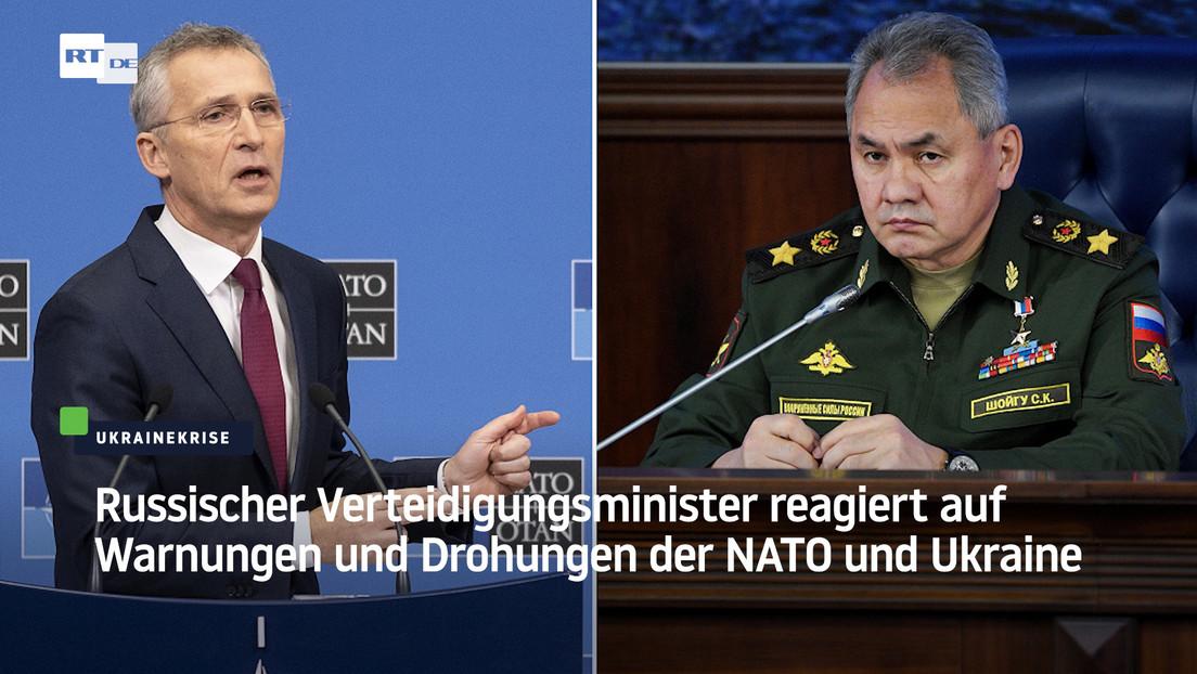 Russischer Verteidigungsminister reagiert auf Drohungen von NATO und Ukraine