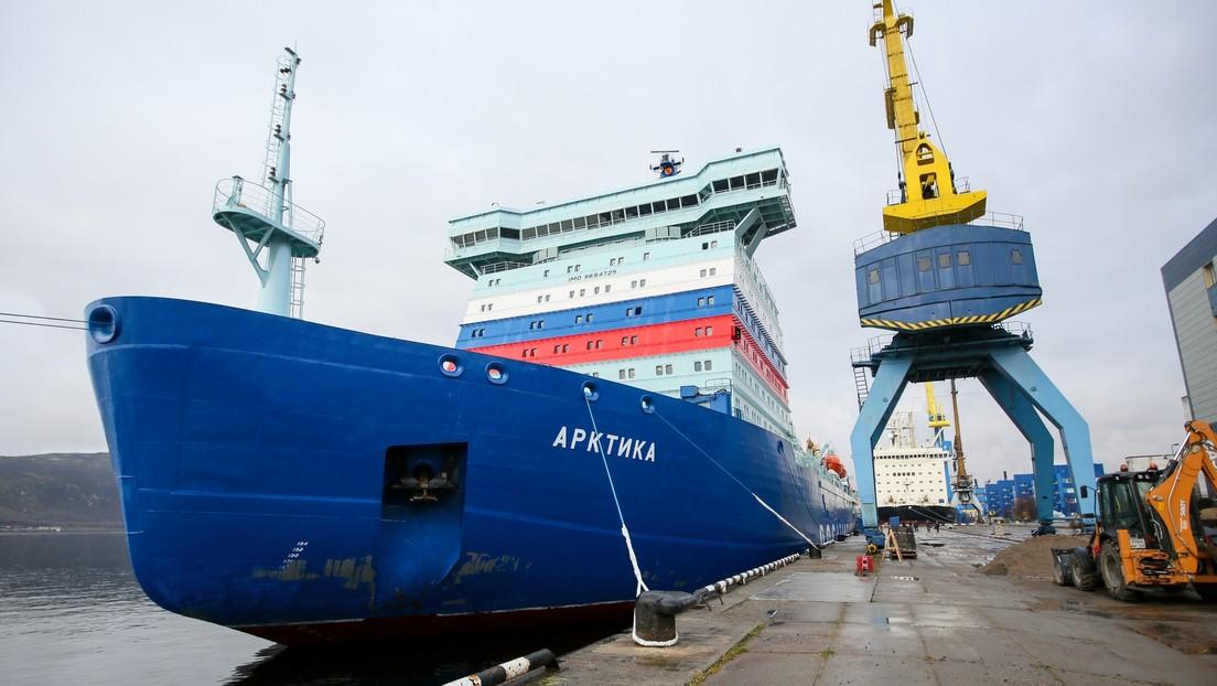 Wladimir Putin zur Förderung der Nordostpassage: Russland erbaut stärkste Eisbrecherflotte der Welt