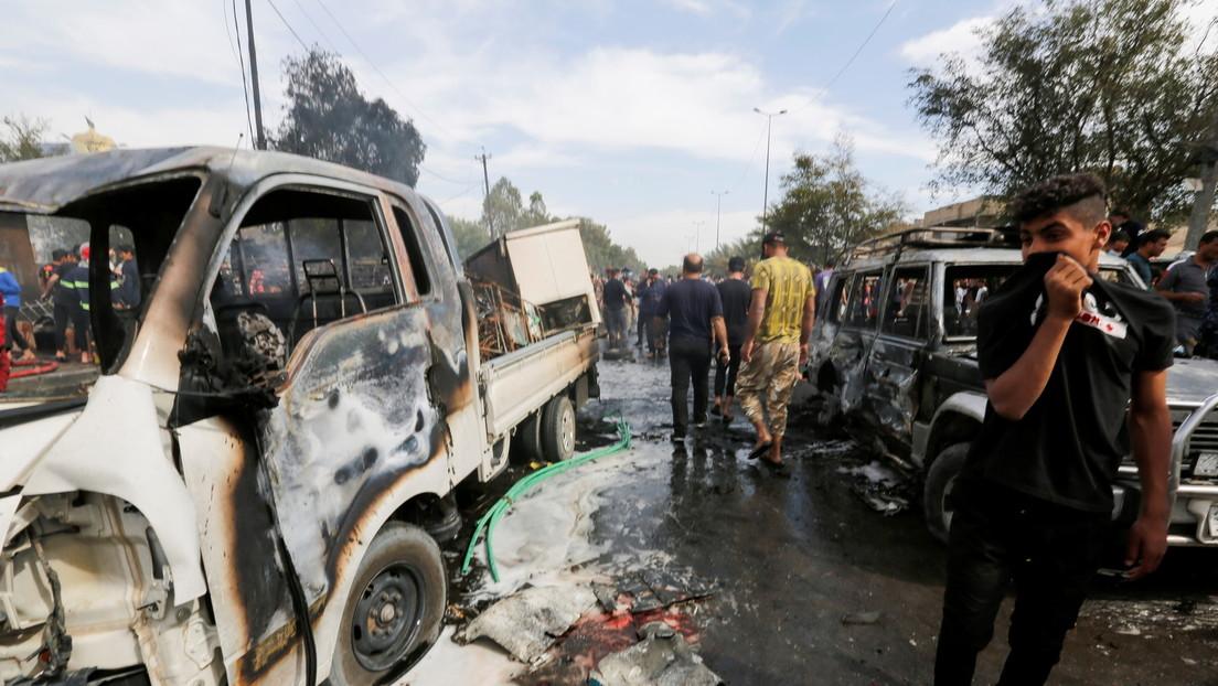 Autobombe: Mindestens vier Tote bei Anschlag in Bagdad
