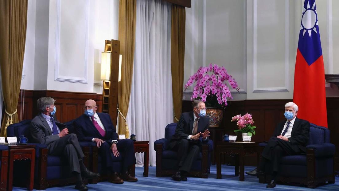 Taiwan bekräftigt Bereitschaft, mit USA gegen China zu arbeiten
