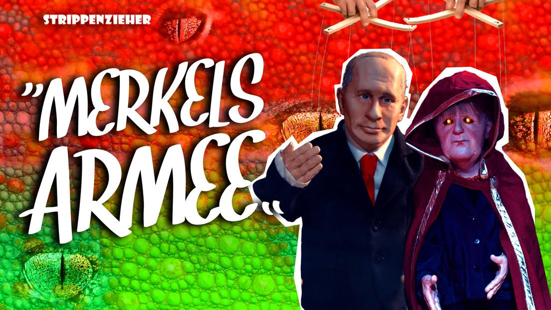 Merkels Armee | Außerirdische Regierung attackiert die Menschen | Strippenzieher