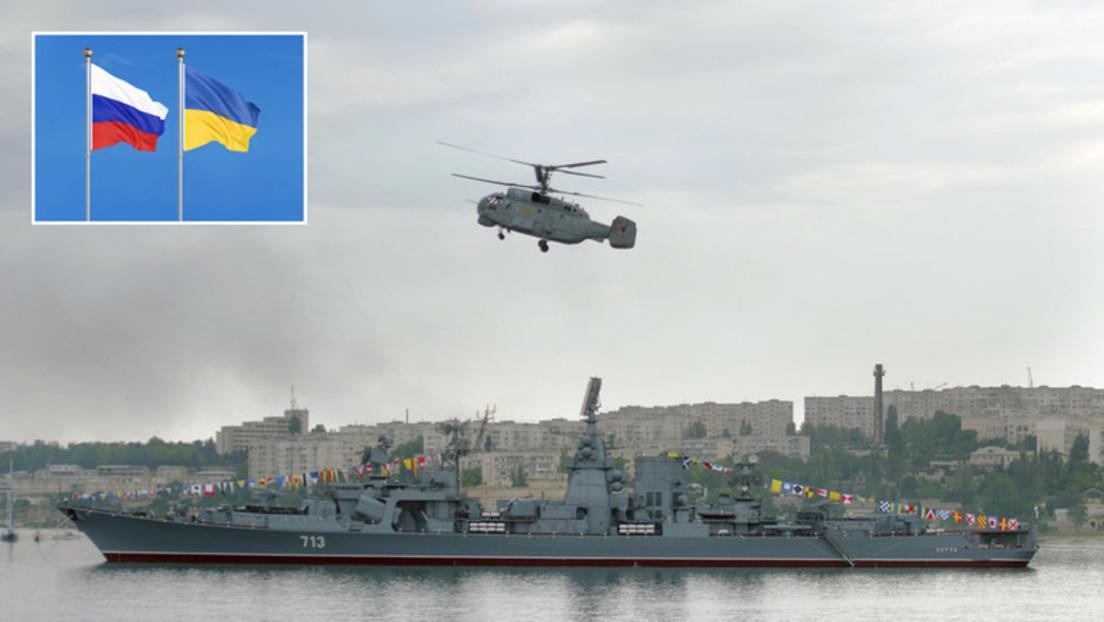 """Ukraine wirft Russland angebliche """"Provokationen"""" im Asowschen Meer vor"""