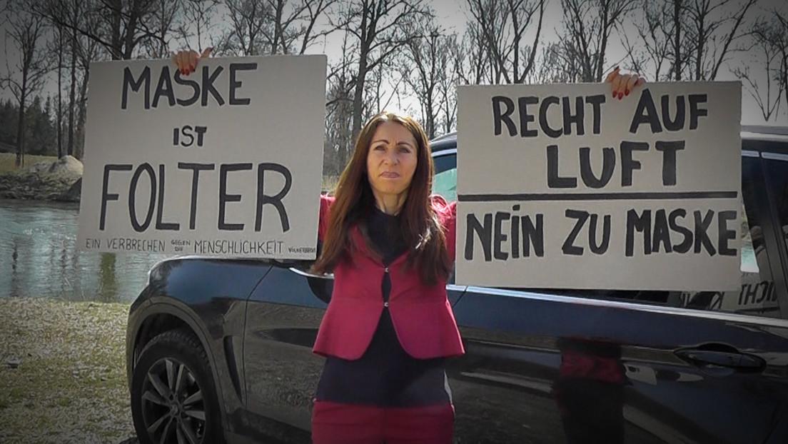 Maskengegnerin bekommt fünf Tage Haft nach Protestaktionen in Bayern