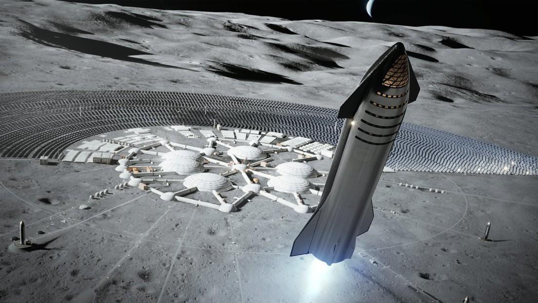SpaceX erhält NASA-Auftrag für bemanntes Mondlandegerät