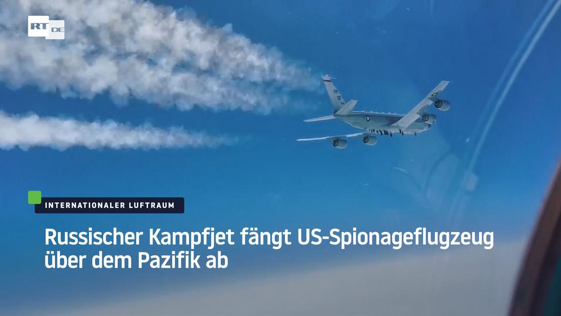 Russischer Kampfjet fängt US-Spionageflugzeug über dem Pazifik ab