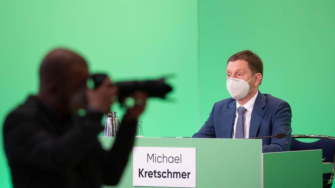 """""""Irritieren die Leute"""" – Kretschmer kritisiert AfD, Querdenker und andere """"verschwurbelte Menschen"""""""