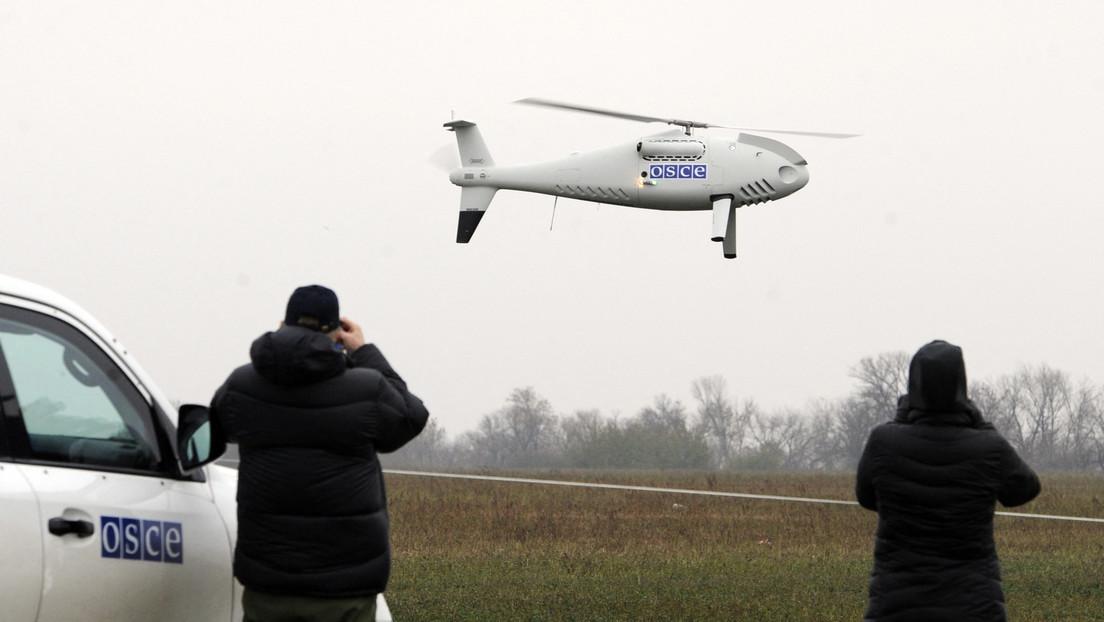 Aufklärung unerwünscht: OSZE bestätigt Beschuss und Signalstörung ihrer Drohnen aus der Ukraine