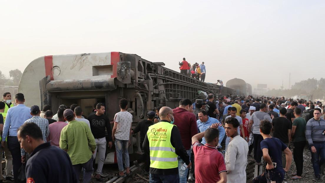 Mindestens acht Tote und etwa 100 Verletzte bei Zugunglück in Ägypten