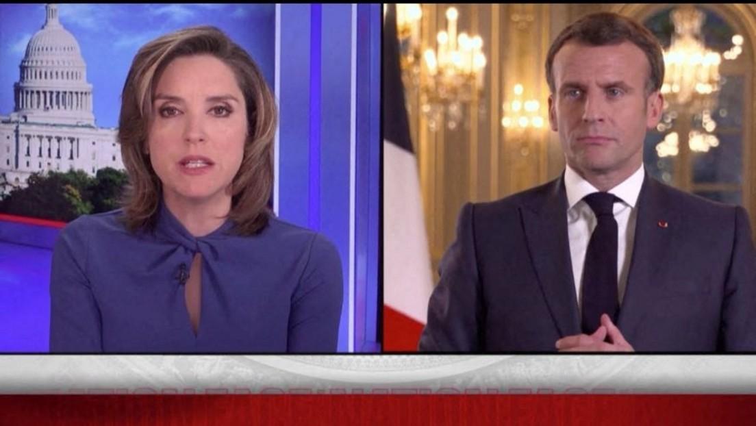 """Macron fordert """"klare rote Linien"""" gegenüber Russland"""