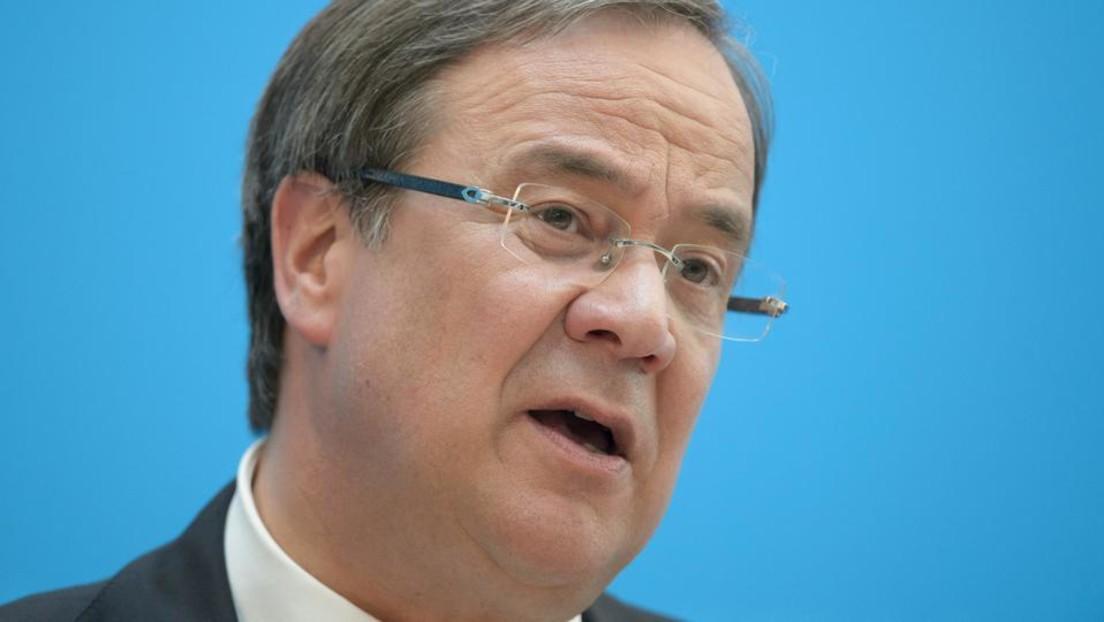 LIVE: CDU-Chef Laschet zur Kanzlerkandidatur von Baerbock für die Grünen
