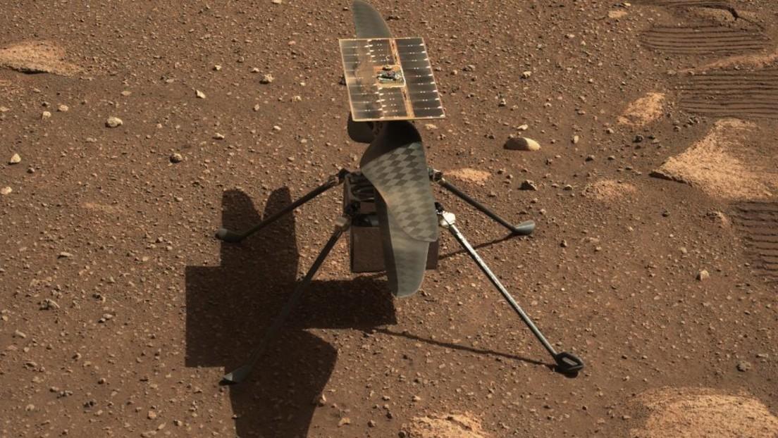 NASA-Hubschrauberdrohne macht erfolgreichen ersten Flug auf dem Mars
