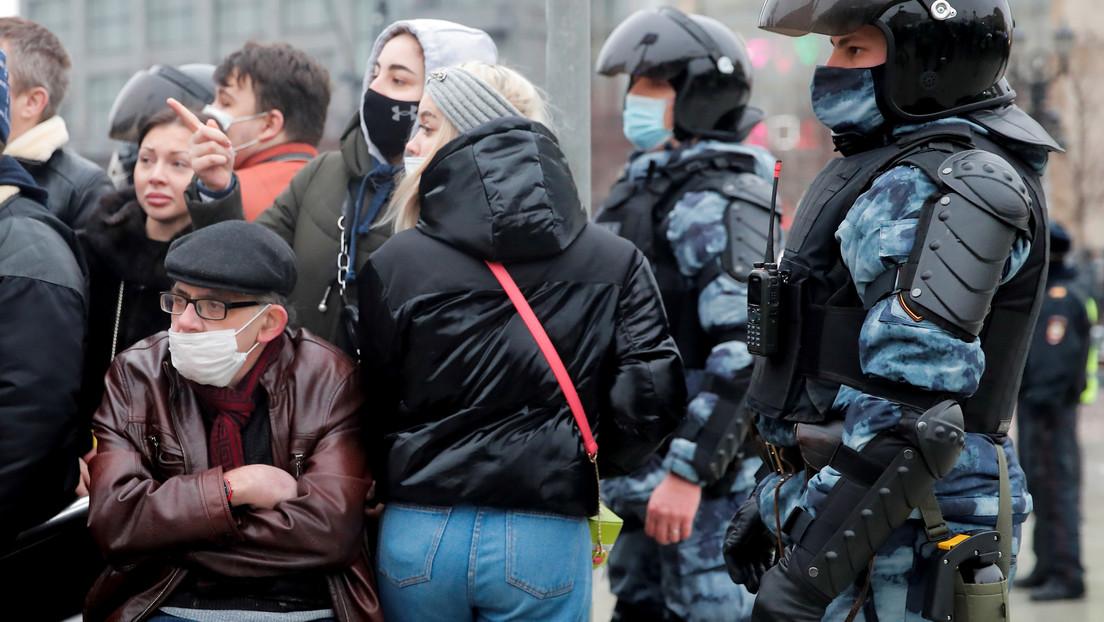 """Kremlsprecher Peskow zu angekündigten Nawalny-Protesten: """"Aufrufe kommen aus dem Ausland"""""""